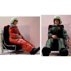 Z2003095 Pilot mit Helm und...