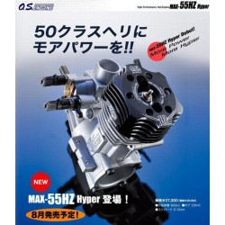 OS Max 55 HZ Hyper Heli Motor