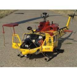 Bell 412 Komplettbausatz...