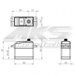 MKS HV1240 - HV DIGITAL SERVO