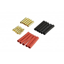 Goldkontakt Ø 4mm, 4 Paar