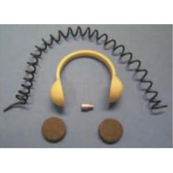 Kopfhörer für Pilotenfigur