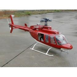 Bell 407, rot / weiss,...