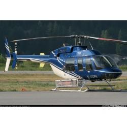 Bell 4o7, blau / weiss,...