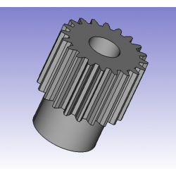 Motorritzel zu Hexagon 1