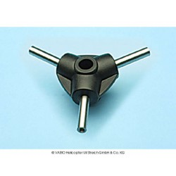 3-Blatt-Zentralstück 10 mm