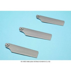 3 blade set 102 mm, grey