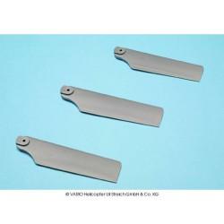 3 blade set 102 mm, grey