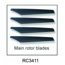 RC-3411-V6 Rotorblätter,...